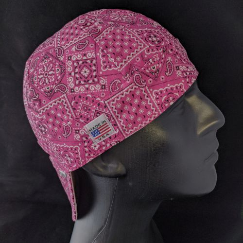 Rose Bandanna Welding Hat