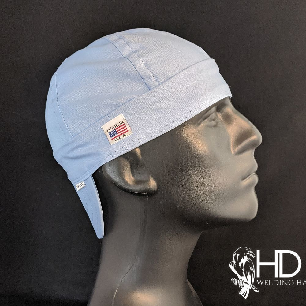 Light Blue Welding Hat