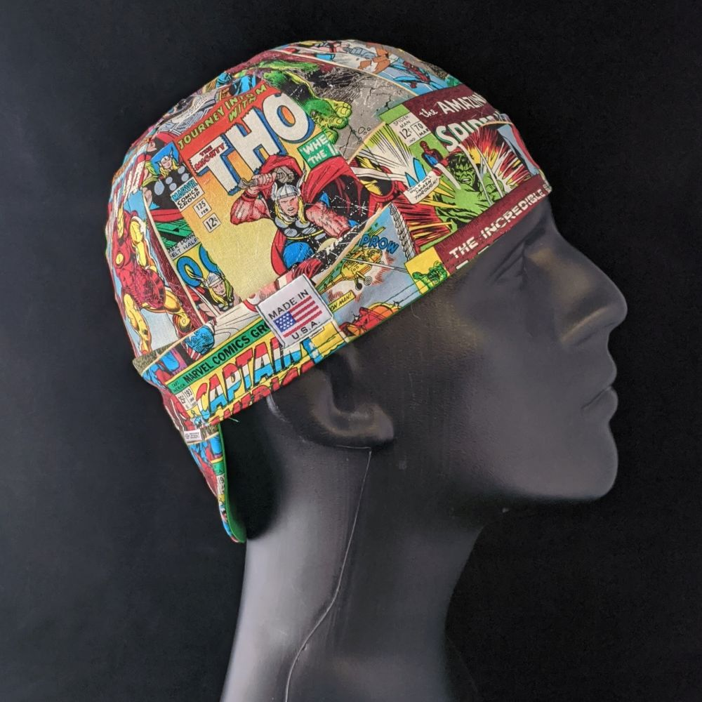 Marvel Comics Welding Hat
