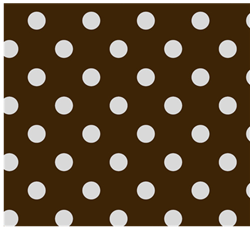 Chocolate Dots Cotton Welding Hat