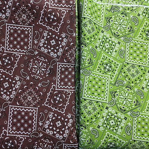 2 Bandanna Deal - Lime & Chocolate