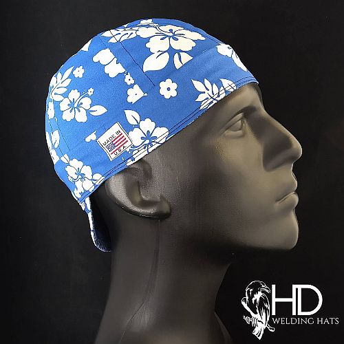 Hawaiian Blue Welding Hat