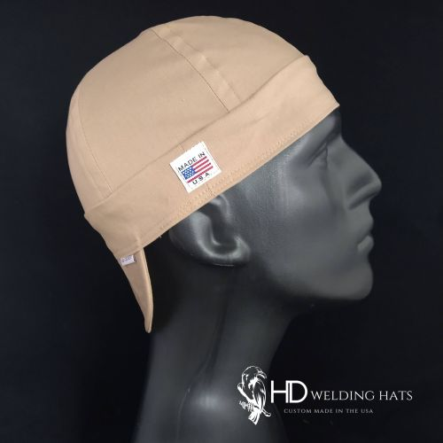 Bella Cotton Khaki Welding Hat