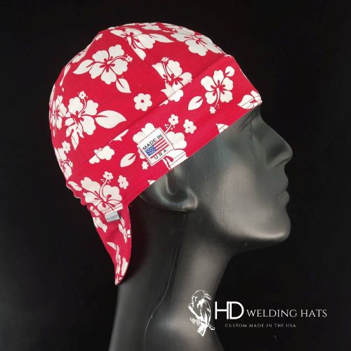 Hawaiian Red Welding Hat