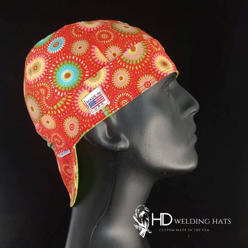 Ruby Retro Medallion Welding Hat