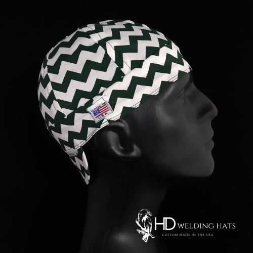 Green Chevron Welding Hat