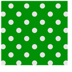 Kelly Green Dots Welding Cap