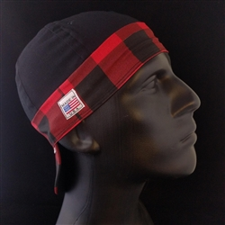 Buffalo Plaid 2 Tone Welding Hat