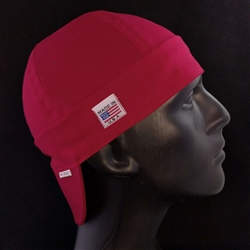 Bella Cotton Red Welding Hat