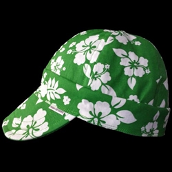 Hawaiian Green Welding Hat