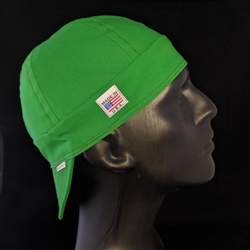 Bella Cotton Green Welding Cap