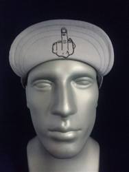 Middle Finger Welding Hat