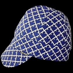 Navy Arrowhead Welding Hat