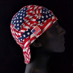 Patriotic Flag Welding Hat
