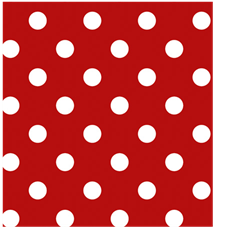 Red Dots Welding Hat