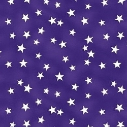 Stars-Purple Welding Hat